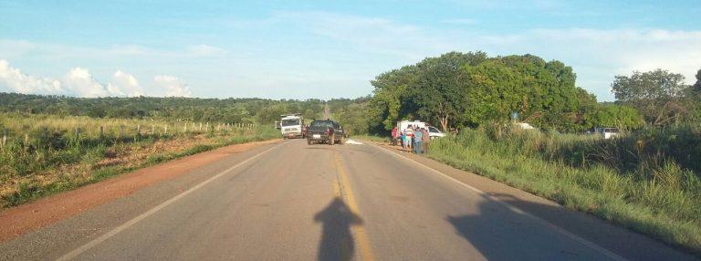 Duas pessoas morreram em acidente na BR 070, em Itapirapuã