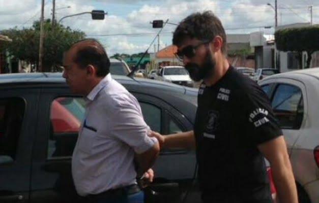 Ex-prefeito de Goiatuba (GO) é preso suspeito de crime de peculato