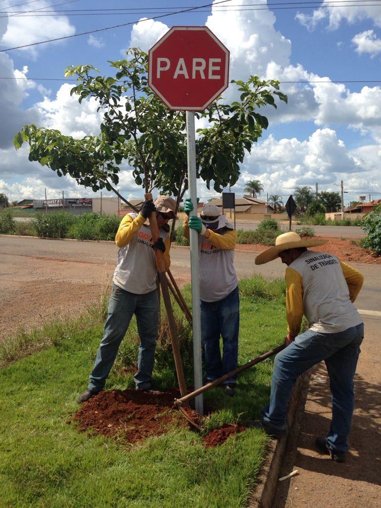 Projeto Goiás Sinalizado é levado a mais seis municípios