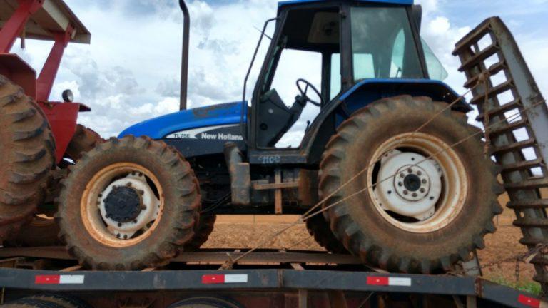 PRF recupera máquinas agrícolas furtadas em Ipameri