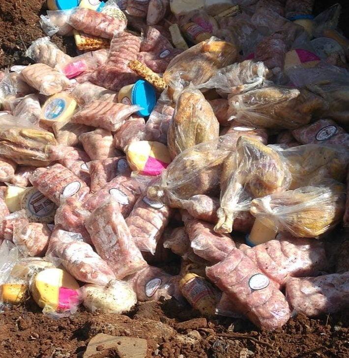 Fiscalização apreende mais de 1,5 tonelada de carne clandestina imprópria para uso e consumo