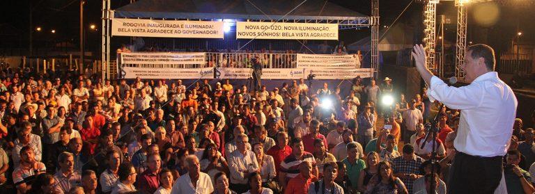 Todas as rodovias de acesso a Goiânia estarão duplicadas até 2018, garante Marconi
