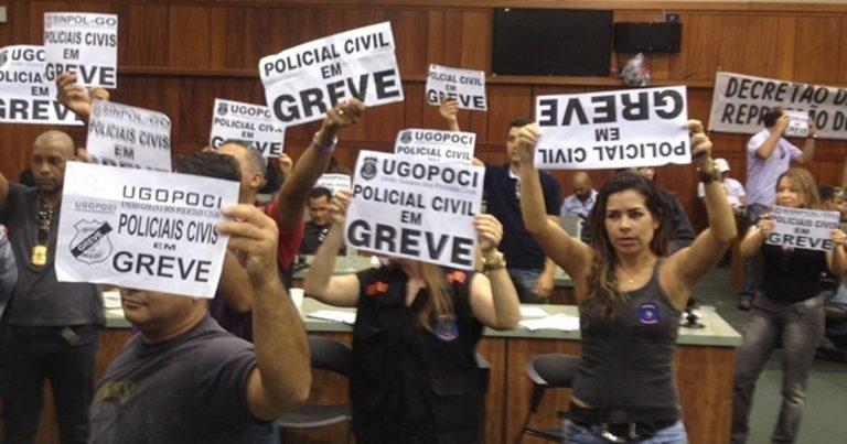 Servidores de carreiras policiais não podem fazer greve, decide STF