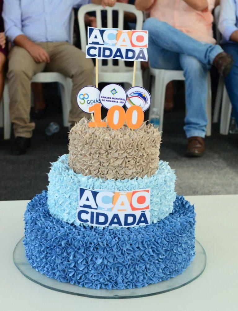 Ação Cidadã comemora 100 edições com um milhão de atendimentos