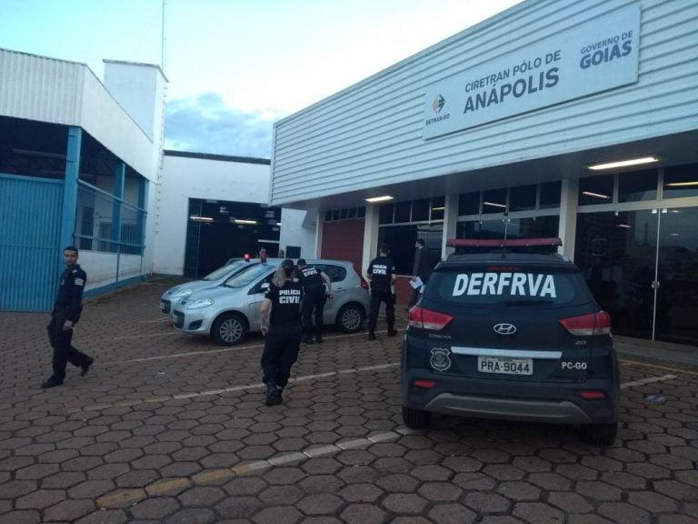 Policia Civil deflagra operação de fraudes no DETRAN