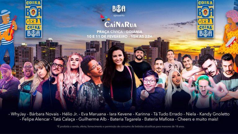 Carnaval: Praça Cívica recebe o Cai Na Rua neste final de semana