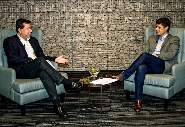 Fabio Coelho, presidente do Google no Brasil, encontra Frederico Trajano, CEO do Magazine Luiza, para um bate-papo