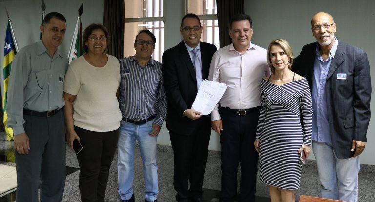 Encontro com o governador Marconi Perillo discute nova sede do Instituto Gustav Ritter
