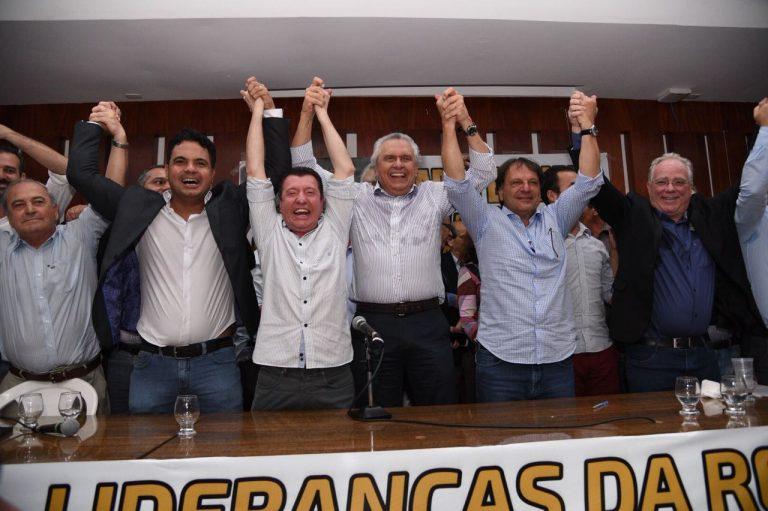 Ala do MDB com Caiado