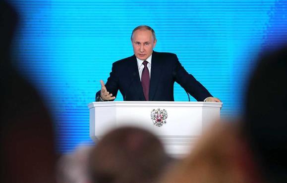Putin anuncia nova linha estratégica em discurso