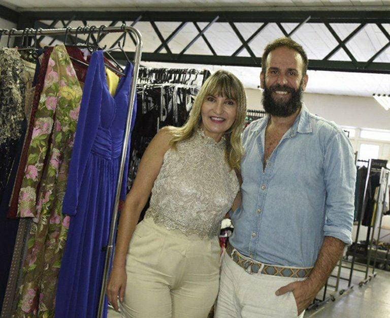 As estilistas Maisa Gouveia e Natalia Gouveia mostram nova coleção no Rio de Janeiro