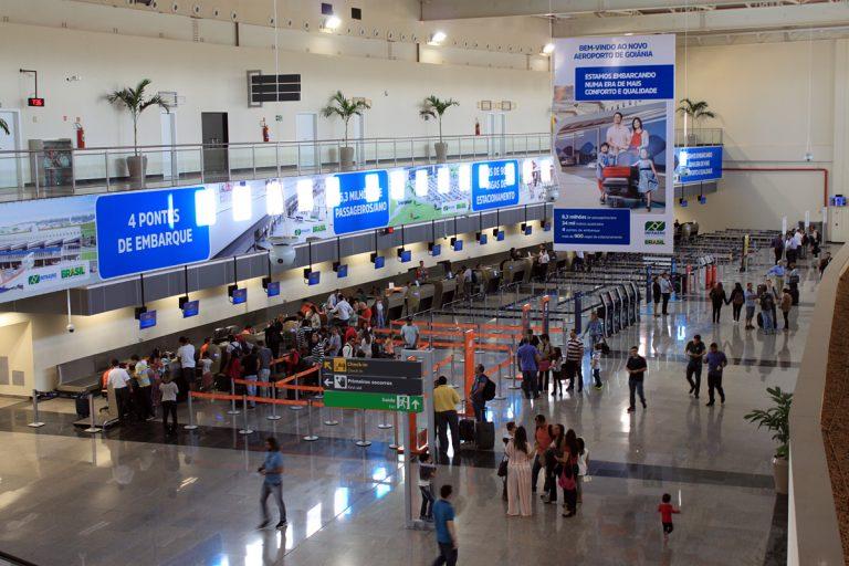 Aeroporto de Goiânia está entre os cinco melhores de 2018, diz pesquisa