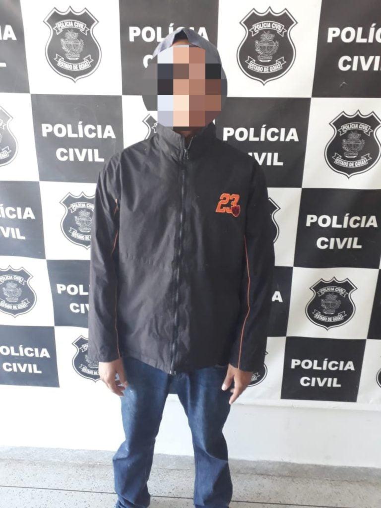 Homem é preso suspeito de estupro e roubo em Jaraguá