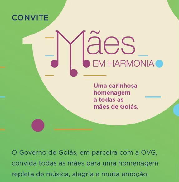 OVG realizará evento em Homenagem ao Dia das Mães