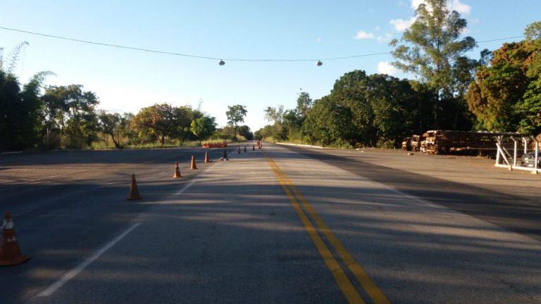Movimento nas rodovias federais goianas tem queda de 70%