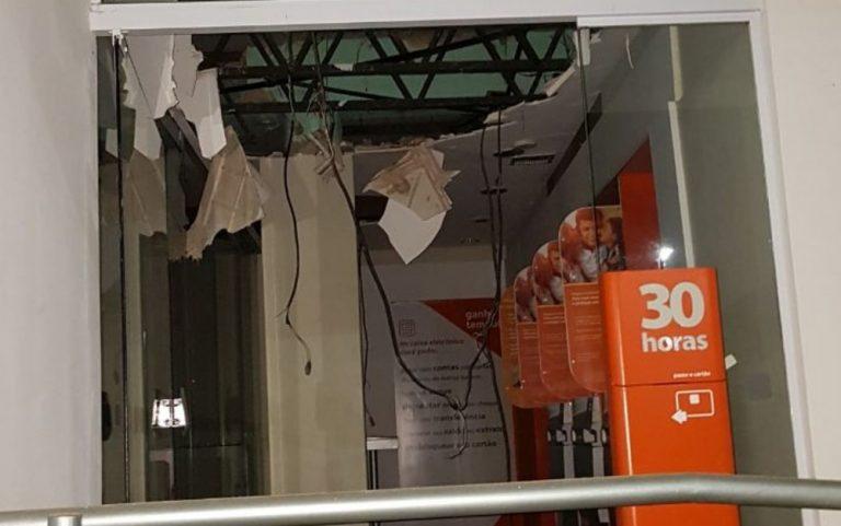 Quadrilha explode agências bancárias, dos correios e rouba joalheria em Ipameri