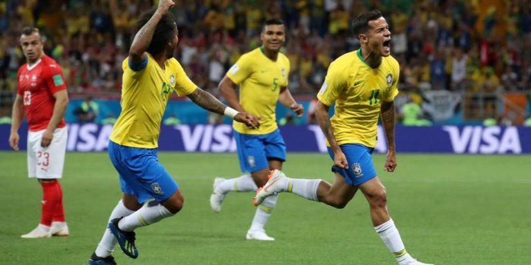 Com 2 a 0 Brasil se classifica