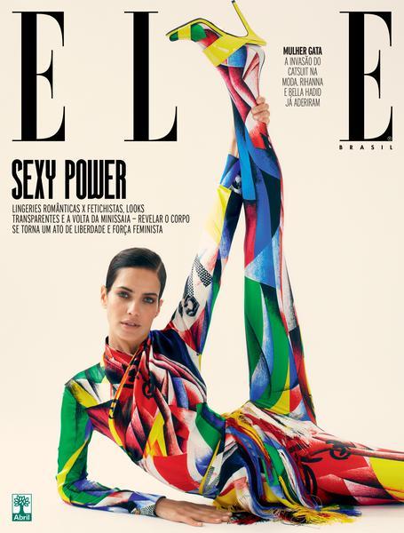 A Elle de junho chegou às bancas celebrando o novo sexy