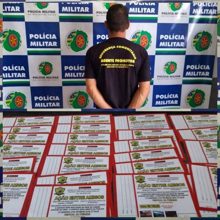 Estelionatário é preso portando documentos falsos