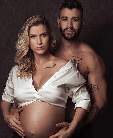 Nasce segundo filho de Gusttavo Lima e Andressa Suita