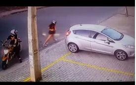 Adolescente suspeita de assaltar delegado, é presa novamente