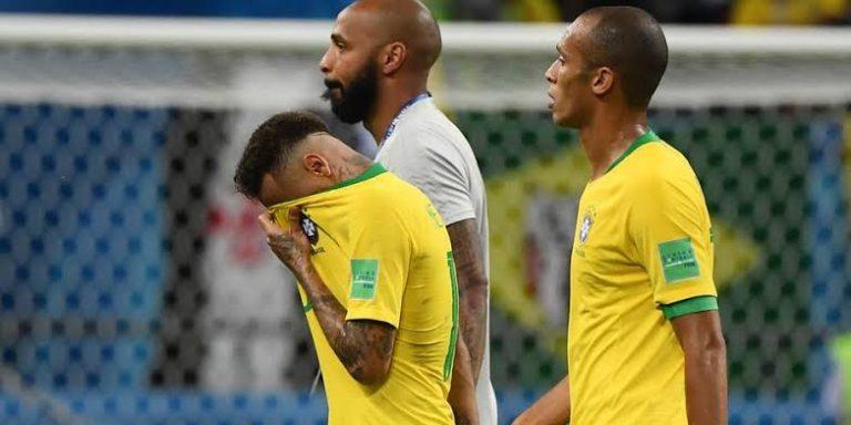 Haja coração, Brasil é eliminado da Copa 2018