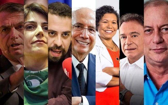 Confira a lista de candidatos à presidência já oficializados