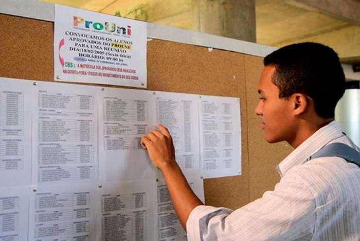 Começa hoje prazo para entrega de documentos da lista de espera do Prouni