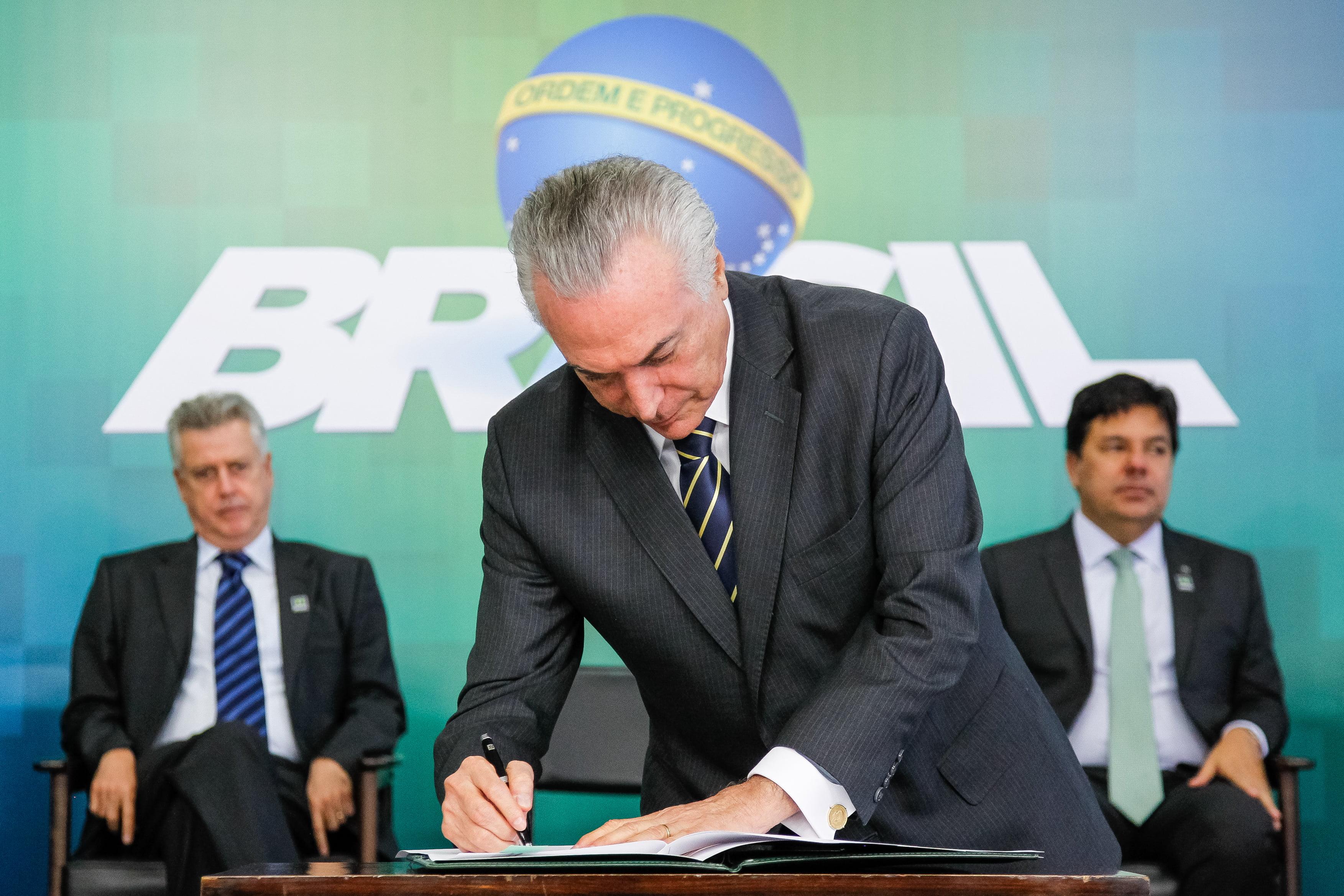 Presidente  Michel Temer. / Foto: Beto Barata - PR / Reprodução / Agência Brasil.