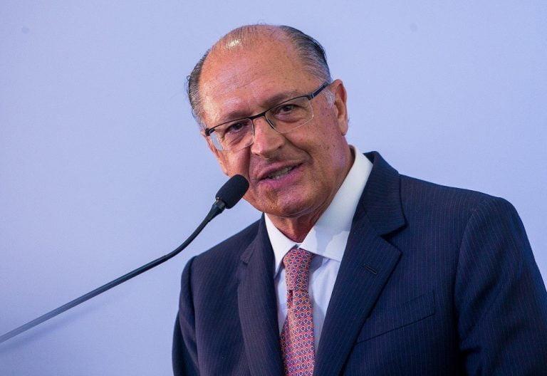 'campanha está começando a embalar agora', diz Alckmin