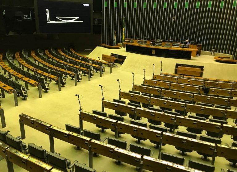 """Esvaziada, Câmara aprova projeto na segunda semana do """"esforço concentrado"""""""