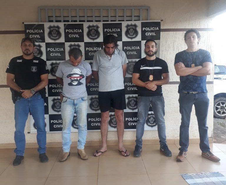 PC prende dupla que furtou dinheiro, em Itaberaí