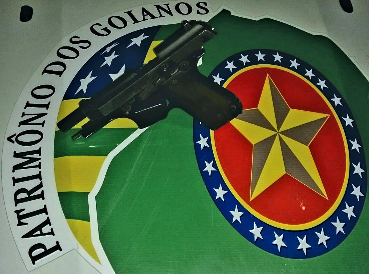 Após confusão em um condomínio de Goiânia, homem disparou uma série e de tiros que atingiram três pessoas. / Foto: Polícia Militar de Goiás.