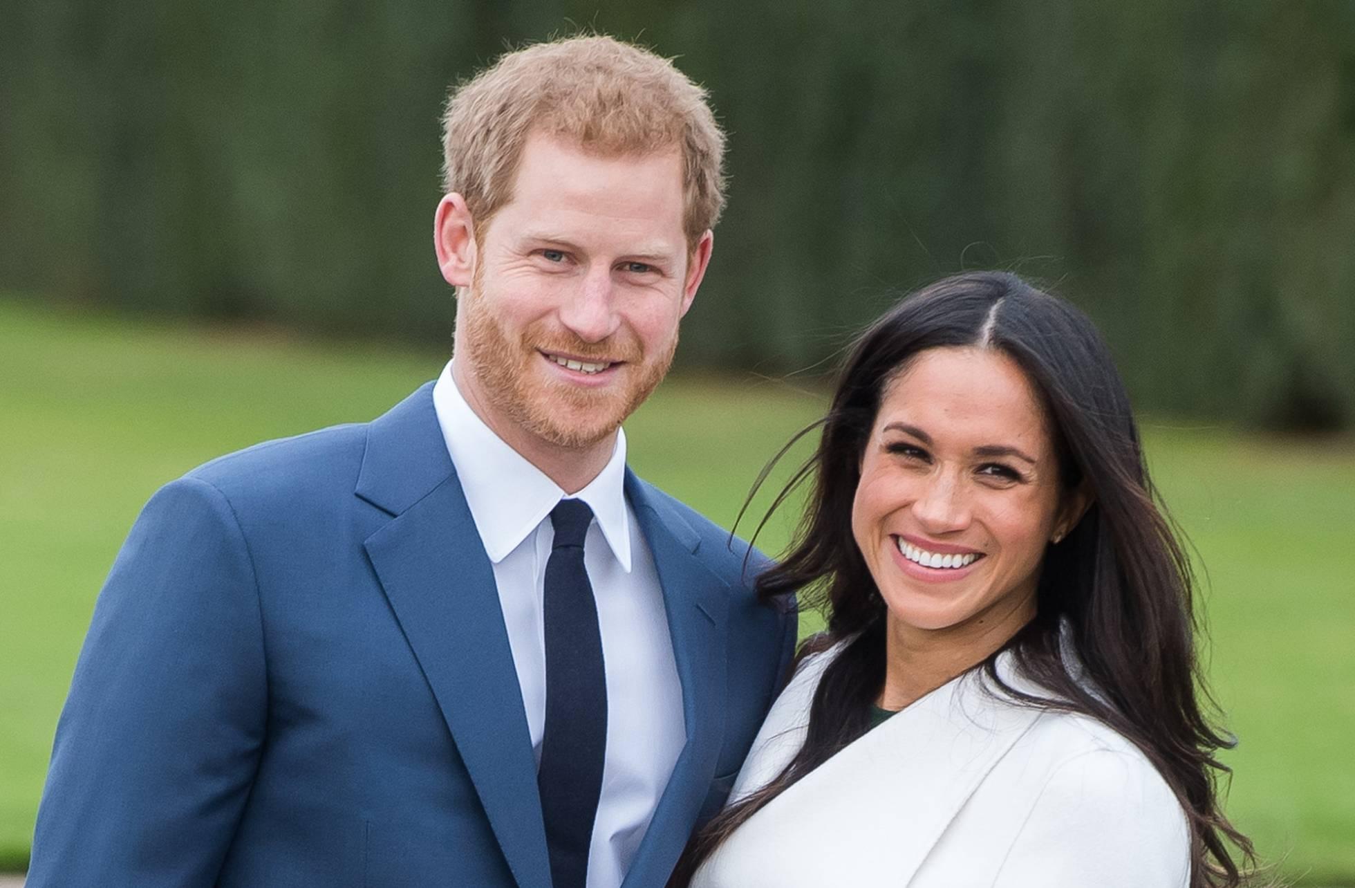 Príncipe Harry e a atriz Meghan Markle anunciam gravidez da duquesa durante viagem à Austrália. Foto: SAMIR HUSSEIN / WIREIMAGE.