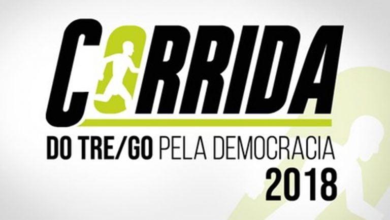 TRE organiza corrida pela democracia em Goiânia