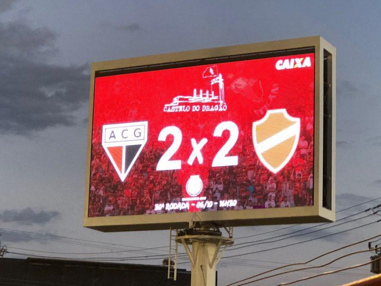 Clássico entre Atlético e Vila termina em empate