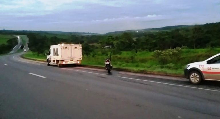 Motociclista morre em acidente na BR 060, em Alexânia