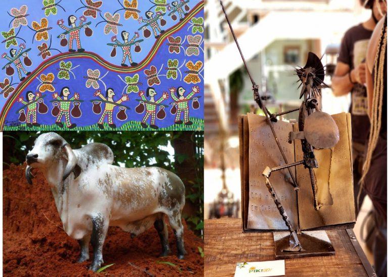 Hotel em Aparecida recebe exposição de artistas goianos