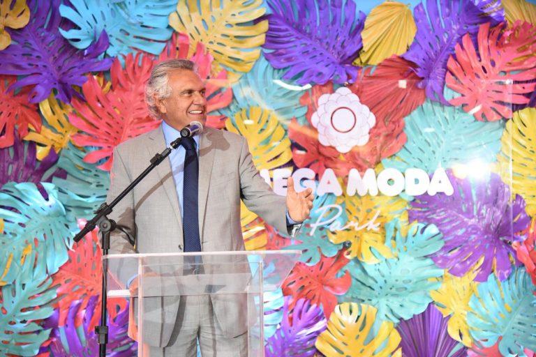 Ronaldo Caiado participa de inauguração de empreendimento comercial em Goiânia