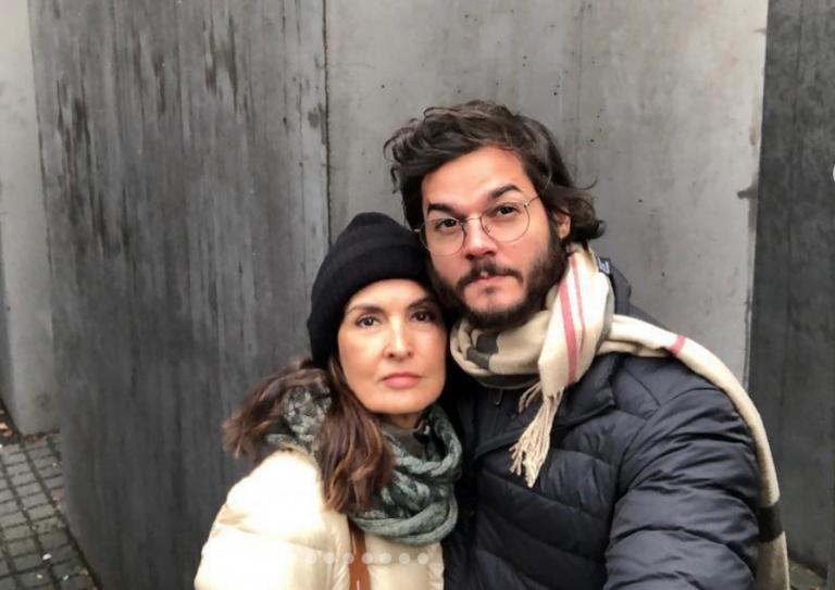 Namorado de Fátima Bernardes é diagnosticado com trombose