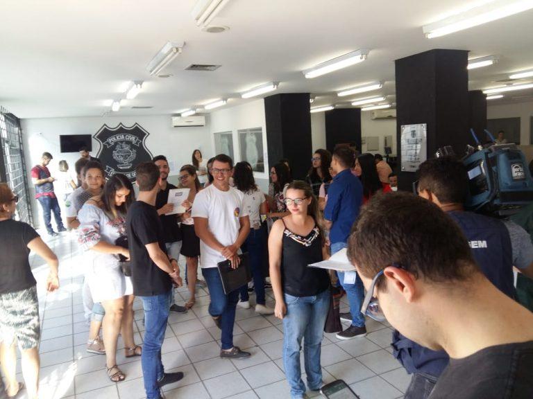 Formandos denunciam empresa de eventos por golpe, em Goiânia