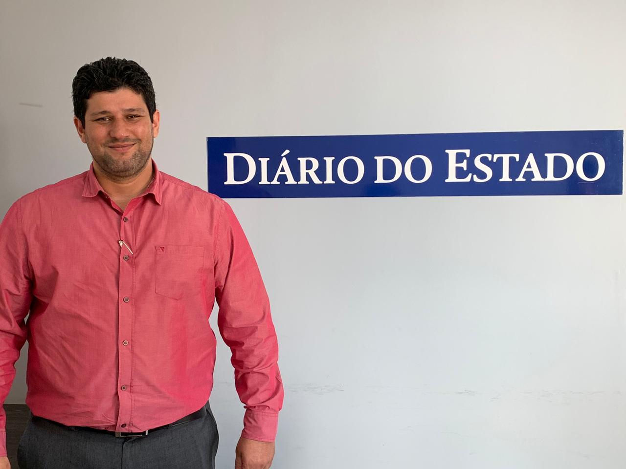 Edmilson Borges - Diretor comercial da URBS. / Foto Redação DE