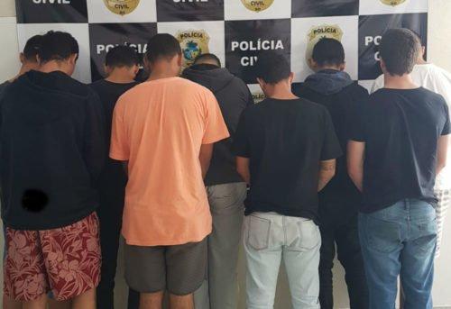 Operação After prende 9 pessoas suspeitas de operar tráfico de drogas em cidades da região sul do estado