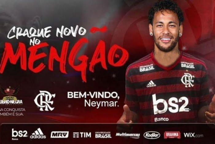 Negociação: Neymar no Flamengo