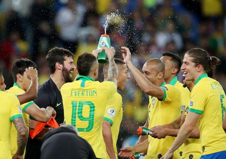 Brasil é campeão da Copa América - Ricardo Moraes/Reuters