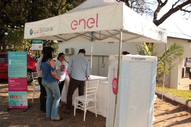 Terceiro ciclo do programa Luz Solidária Enel acontece em Goiás