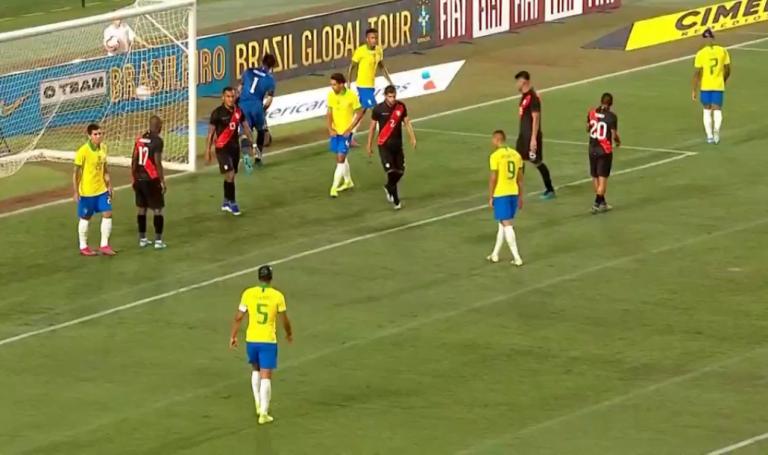 Brasil perde para o Peru em amistoso nos Estados Unidos