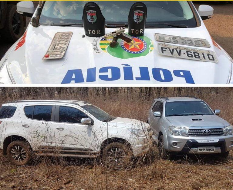 PM desarticula associação criminosa especializada no roubo de veículos em Goiás