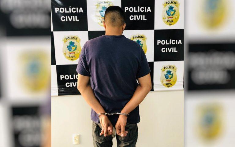 Homem é preso suspeito de abordar aluna na porta de escola e estuprá-la, em Goiânia