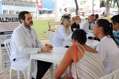 HGG promove Saúde na Praça no Dia Mundial da Doença de Alzheimer